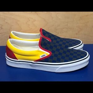 NEW Vans Classic Slip On Off the Wall Rally